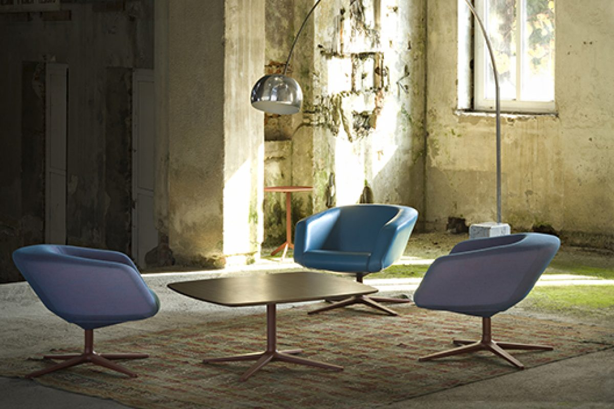 New 2014/2015 colors for Dino armchair designed by Hannes Wettstein for Maxdesign
