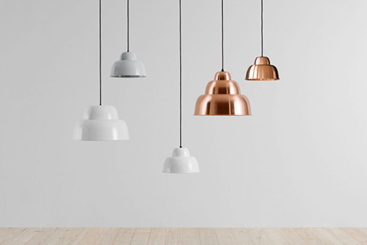 Levels lamps designed by Form Us With Love for Hem. Pure Lighting Innovation