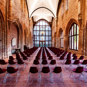 Lutron illuminates renewed Dargun Abbey in Germany. Light and sound creating music