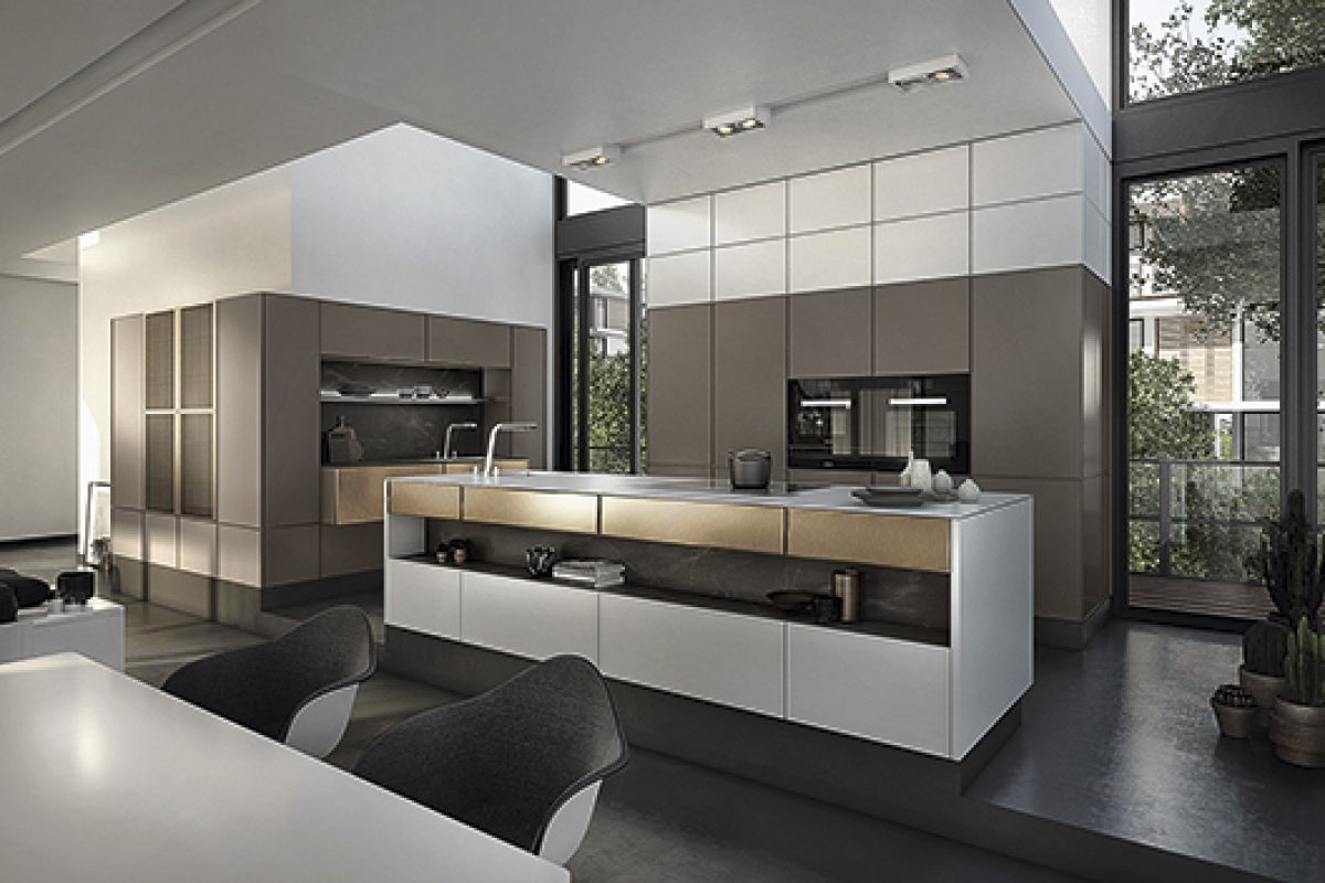SieMatic presents the new programs SE 3003 R and S2-R. Timeless elegance in the kitchen