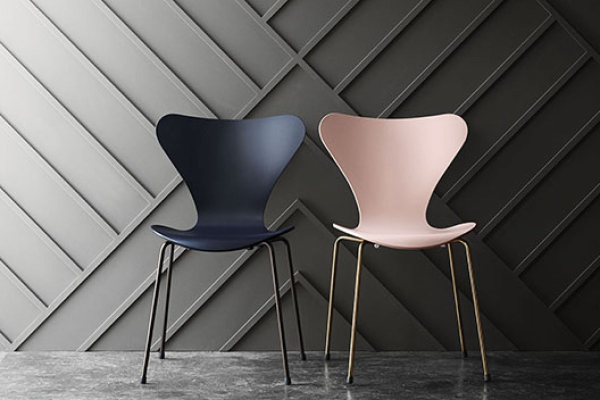 Series 7™ chair designed by Arne Jacobsen for Fritz Hansen, celebrates its 60 years anniversary with a special and limited edition