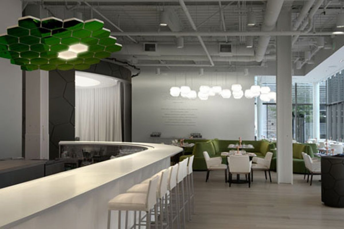 Mathieu Lehanneur designs the Café ArtScience, Boston. A new concept to host scientific, intellectual and artistic discussions