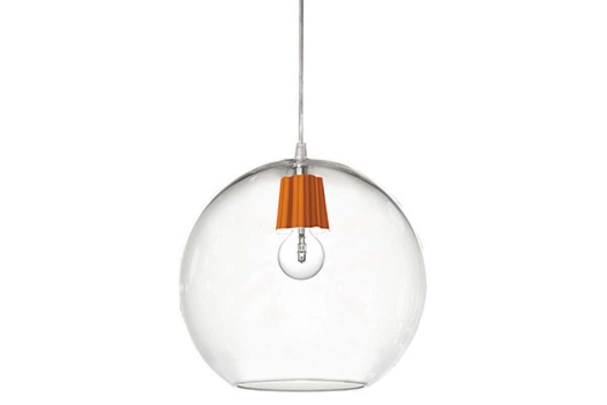 Budino lamp, designed by Hans Thyge Raunkjær for ModoLuce, is becoming Ball