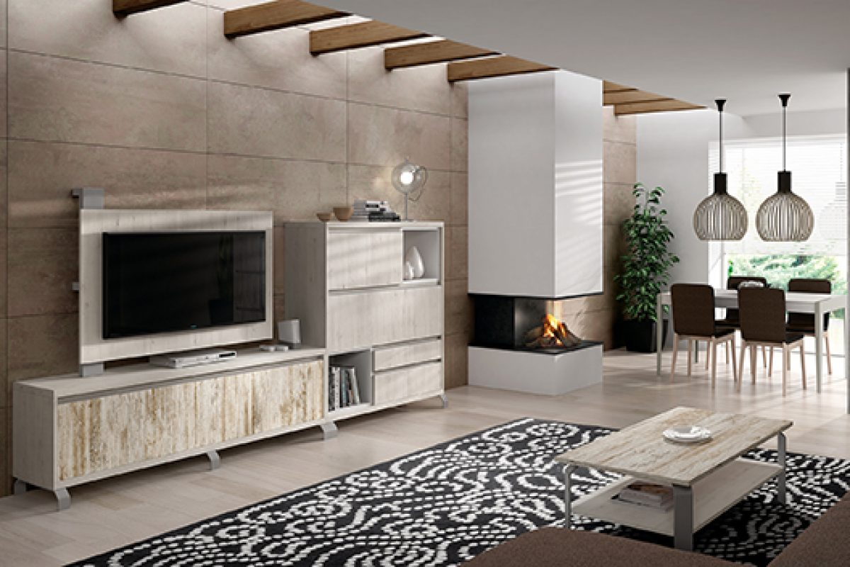 New collection Kay by Baixmoduls. Trendy, natural and versatile furniture for living and dining room