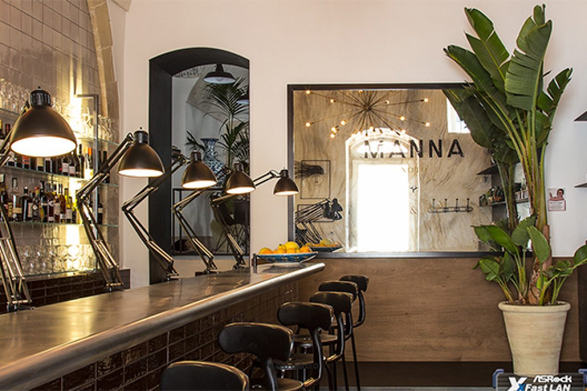 The Sicilian history and idyllic surroundings inspire Gordon Guillaumier in the design of new Bistro Manna Noto