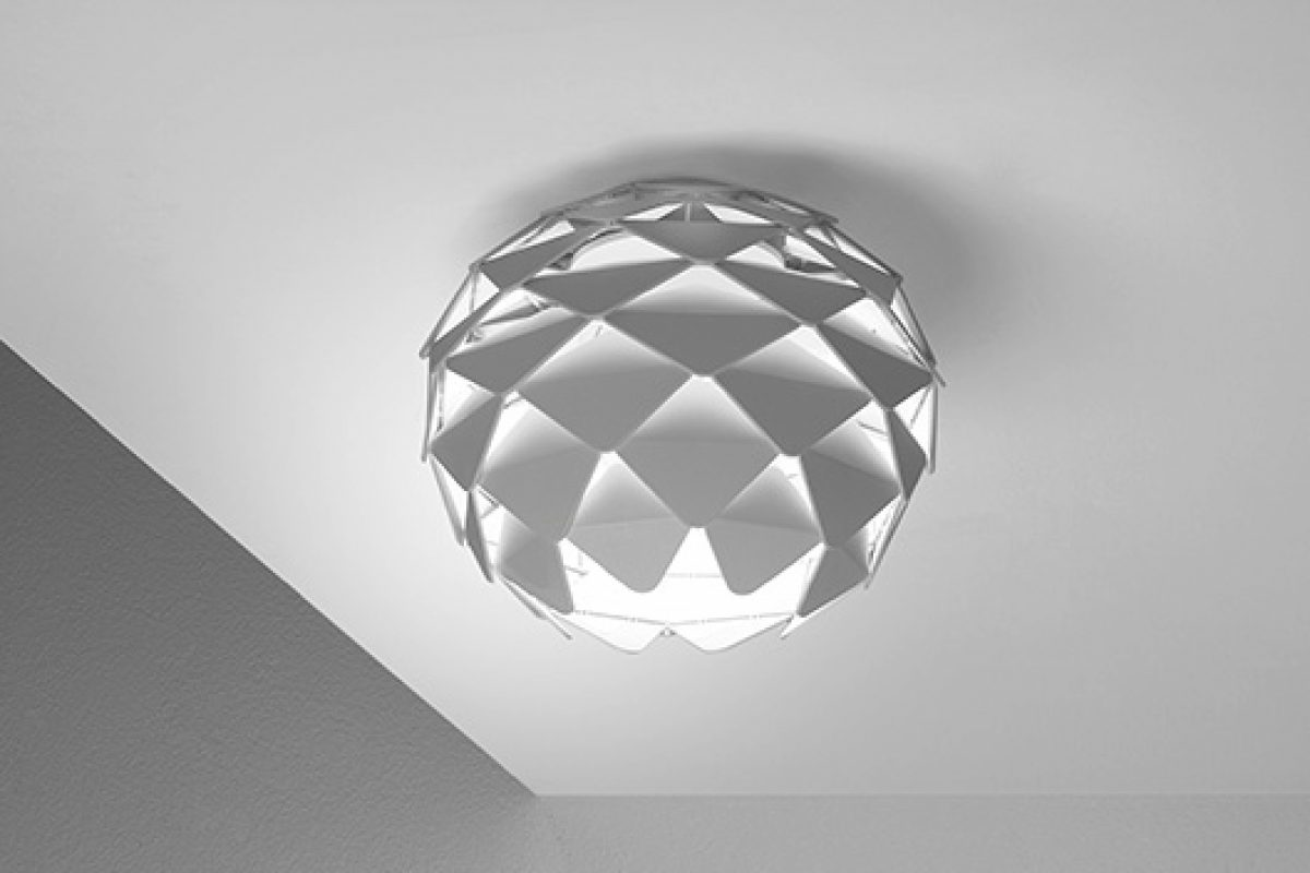 David Abad designs Phi for B.lux: Organic lamps inspired by classic Scandinavian design