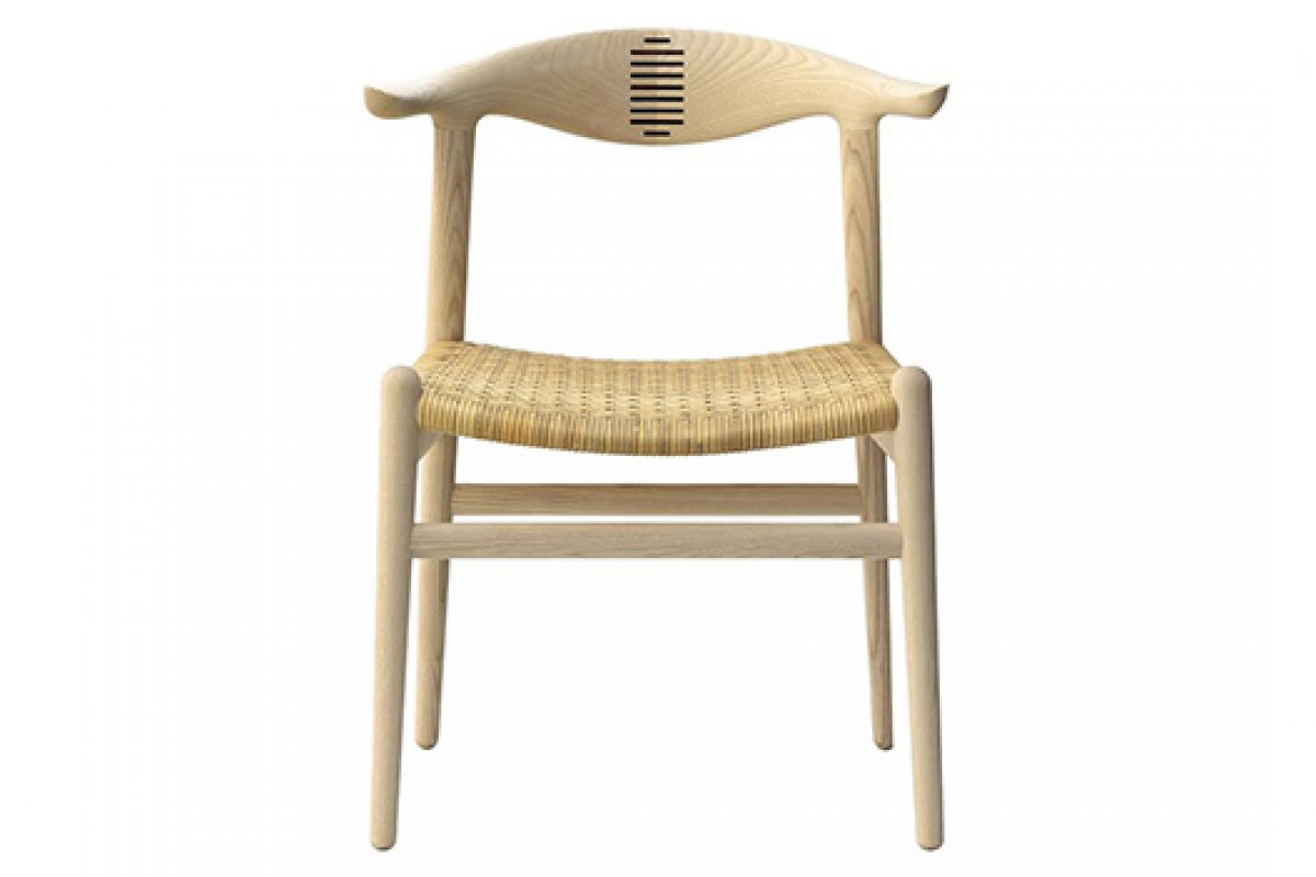 A Nordic Classic, the Corn Horn chair designed by Hans Wegner for PP Mobler in 1952