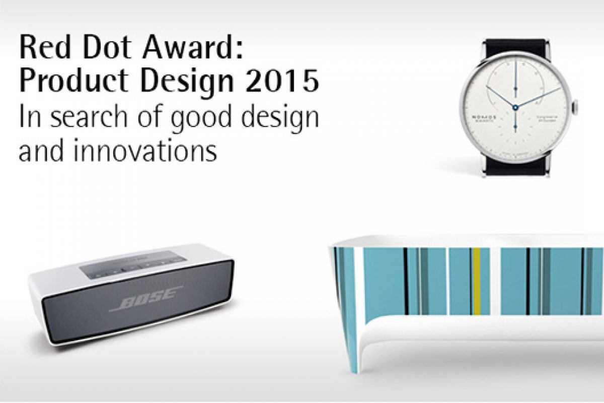 Call for entries for the prestigious design contest Red Dot Award: Product Design 2015