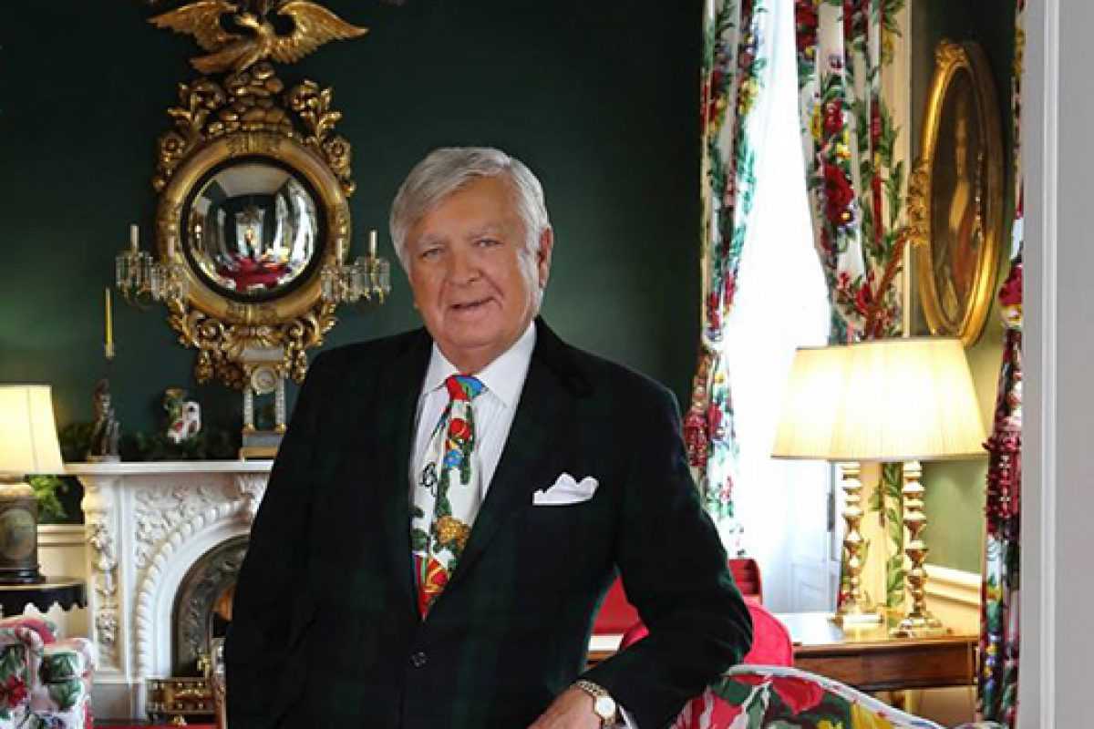 Carleton Varney to be Honored as 2015 Design Icon at Las Vegas Winter Market
