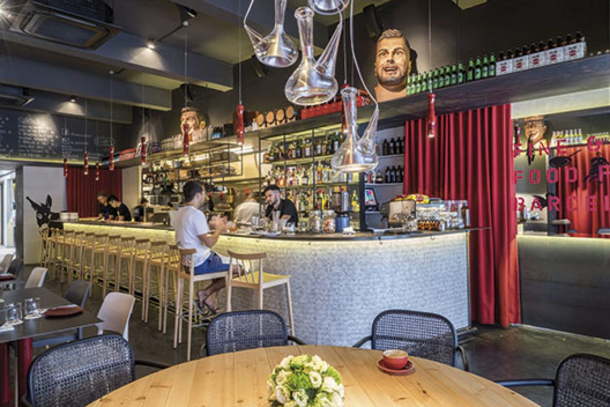 Lagranja design pays tribute to Catalan folklore and Barcelona's traditions at the Nandu Jubany's new restaurant in Singapore
