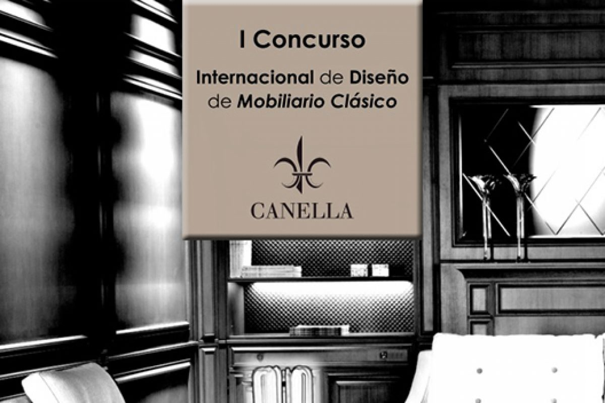 Canella Mobiliario calls for entries for the 1st. International Furniture Design Competition