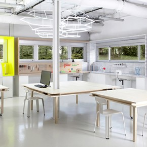 Design & innovation: Fab Lab i2R by Studio GGSV for EDF Research & Development