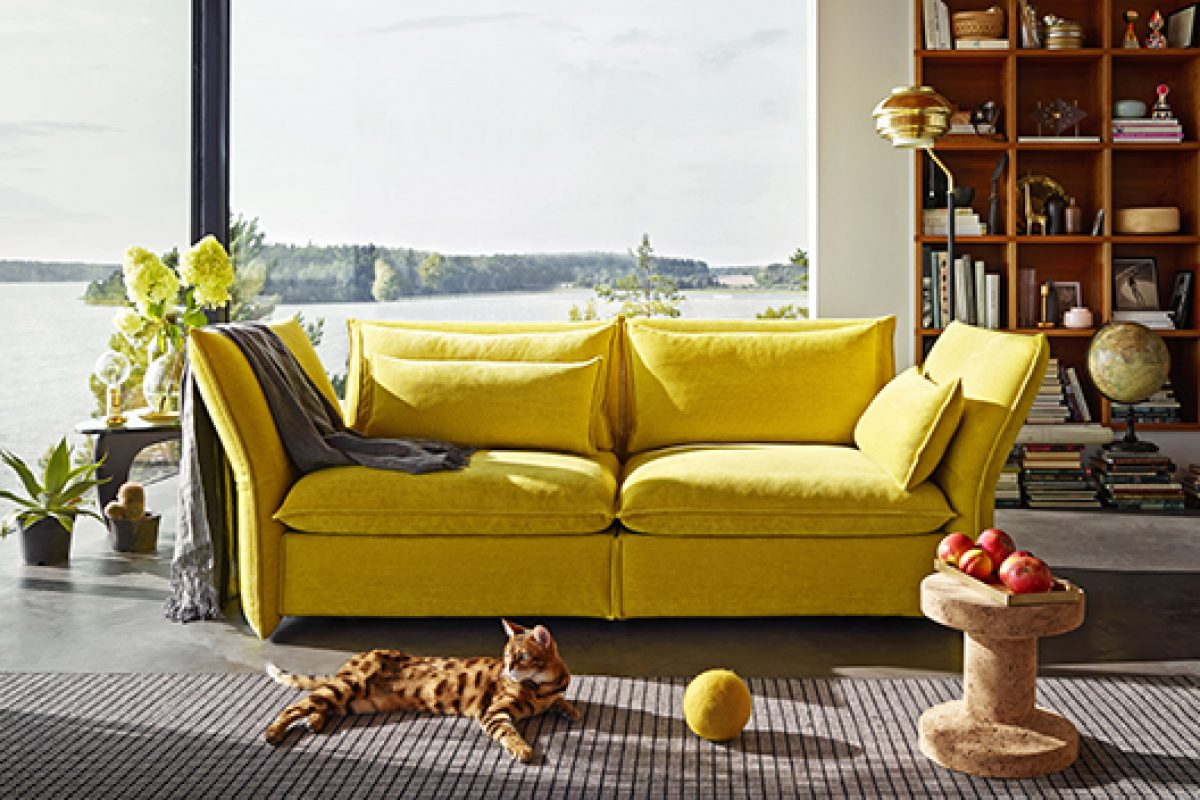 Edward Barber & Jay Osgerby find maximum comfort in Mariposa Sofa, designed for Vitra