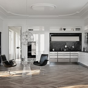 BeauxArts.02: SieMatic and Mick de Giulio interpreted the classic kitchen to adapt to modern times