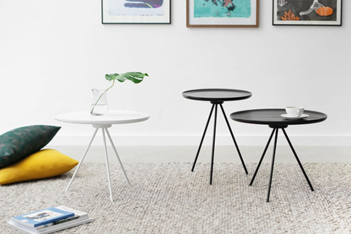 Key gathering tables designed by GamFratesi for Hem