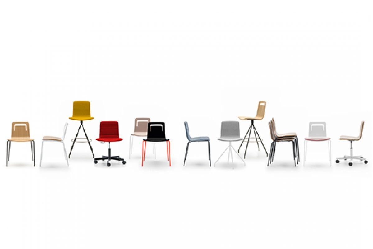 Klip & Marteen, the seating collections designed by Víctor Carrasco for Viccarbe