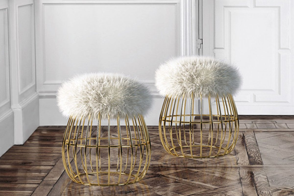 Ottiu presents Andy stool with a warm and yet eccentric personality, in honor of its iconic artistic inspiration