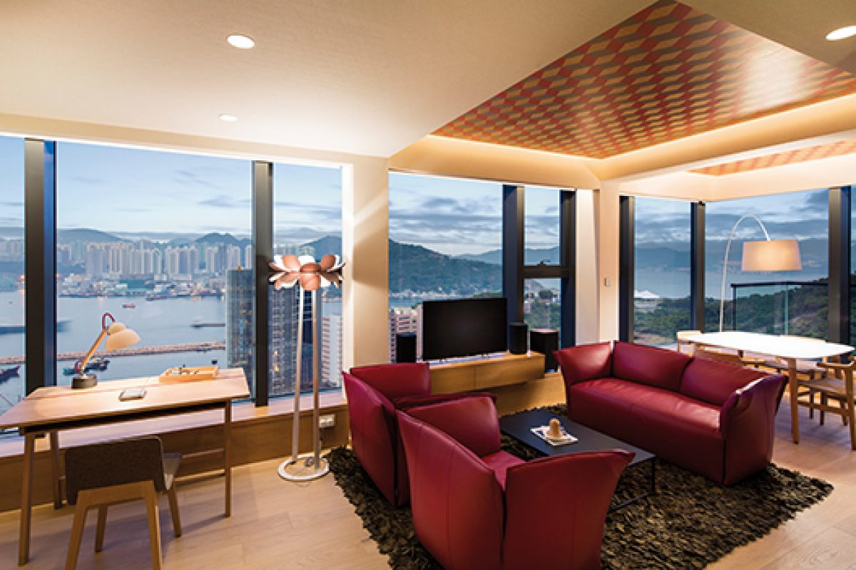 Lagranja designs Riviera, a high-quality residential building in Hong Kong