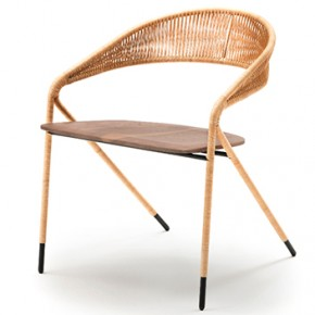 iSaloni 2015 preview: George chair designed by David Lopez Quincoces for Living Divani