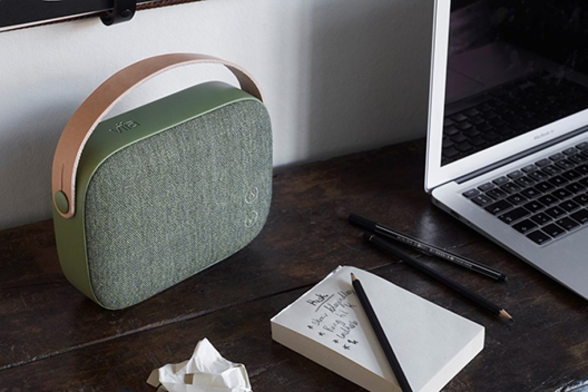 Petite but powerful. New portable Vifa wireless speaker sets new standards