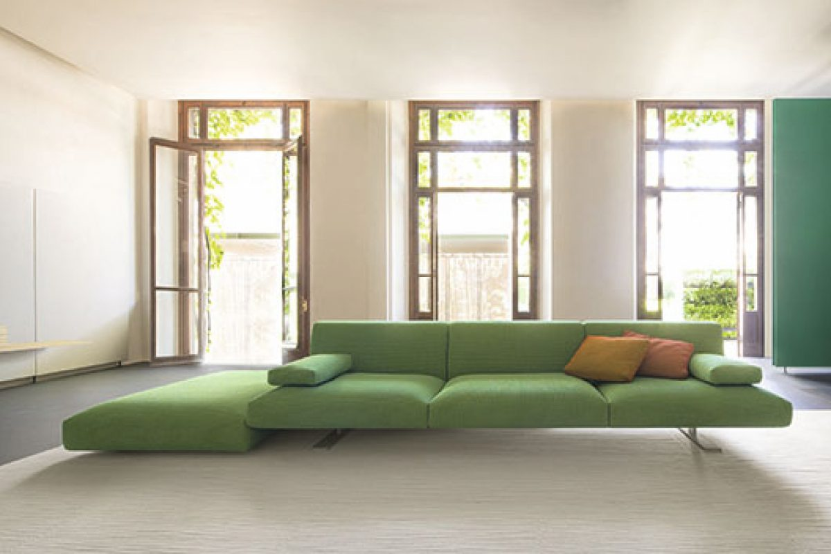 The sectional sofa Move, designed by Francesco Rota for Paola Lenti, wins the Red Dot Award 2015