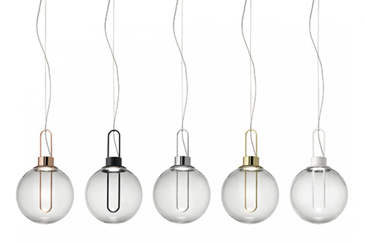 iSaloni 2015 preview: Orb suspension lamp collection designed by Büro Famos for Modo Luce