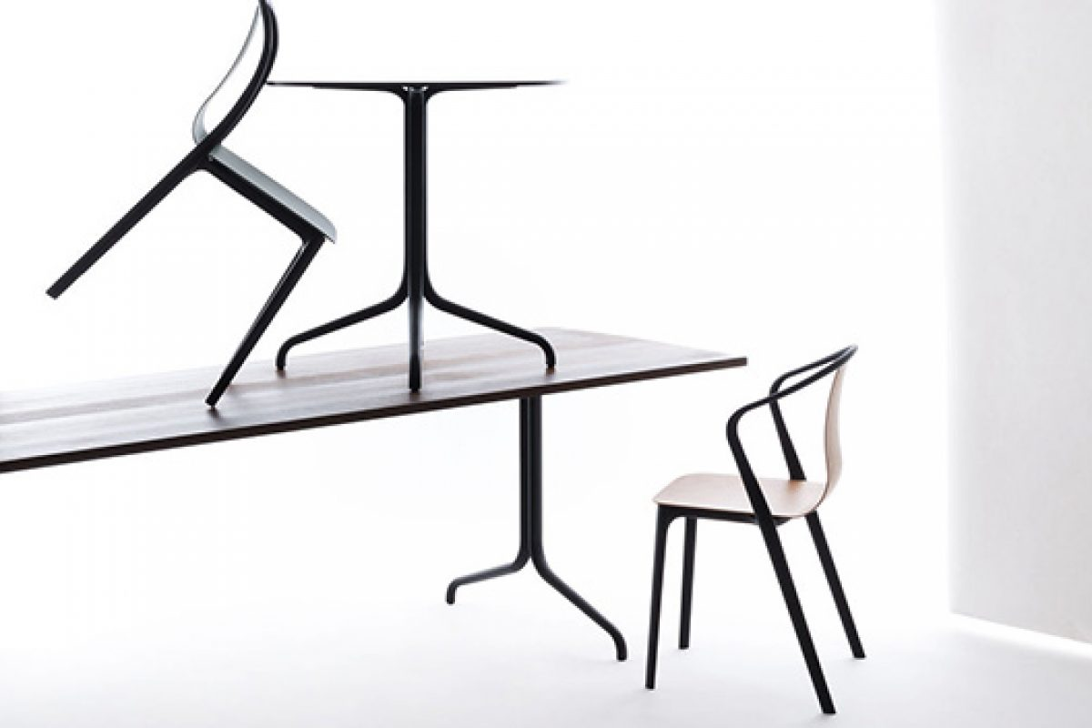 New Vitra: Belleville family, a play of lines and curves designed by Ronan & Erwan Bouroullec