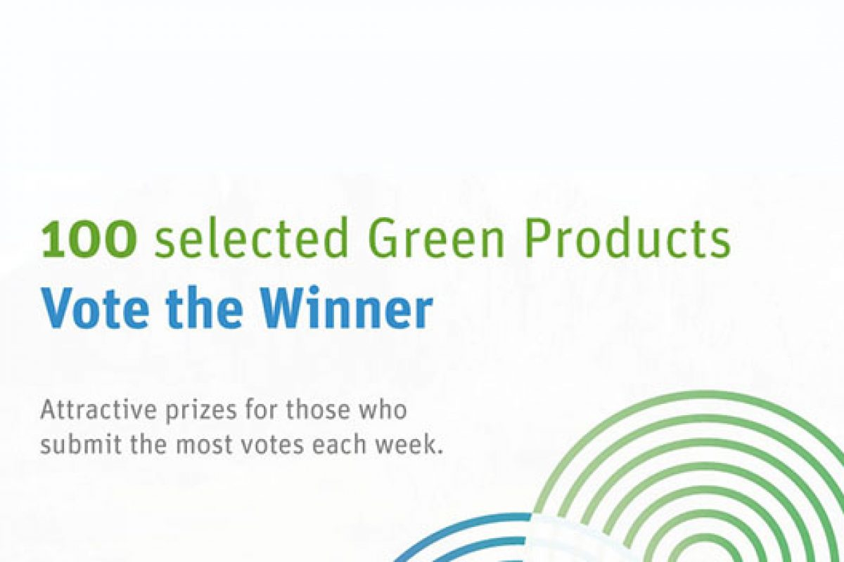 The sustainable design contest, Green Product Award 2015, already has finalists