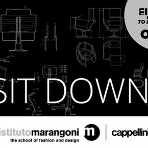 Istituto Marangoni and Cappellini launched SIT DOWN!, an international design contest for young designers from all over the world