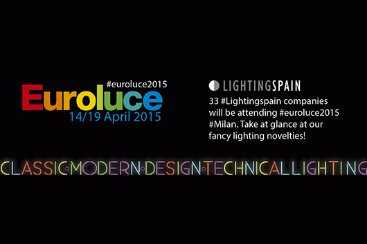 33 spanish lighting companies will be present in euroluce 2015 under