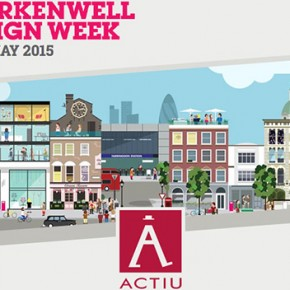 Actiu participates with outstanding activities at the new edition of Clerkenwell Design Week