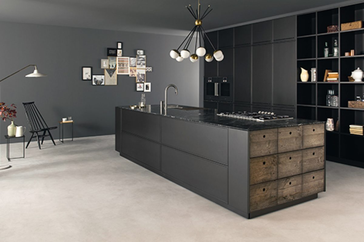 Factory, the industrial style kitchen designed by Alessio Bassan for Key Cucine