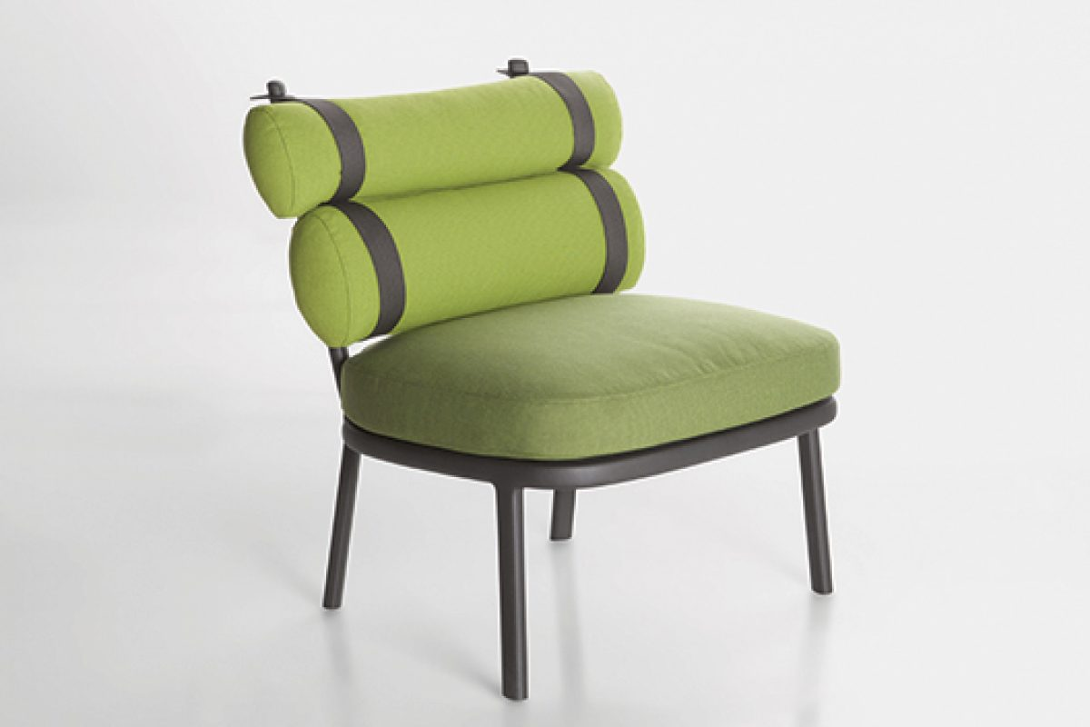 New Kettal Roll chair designed by Patricia Urquiola