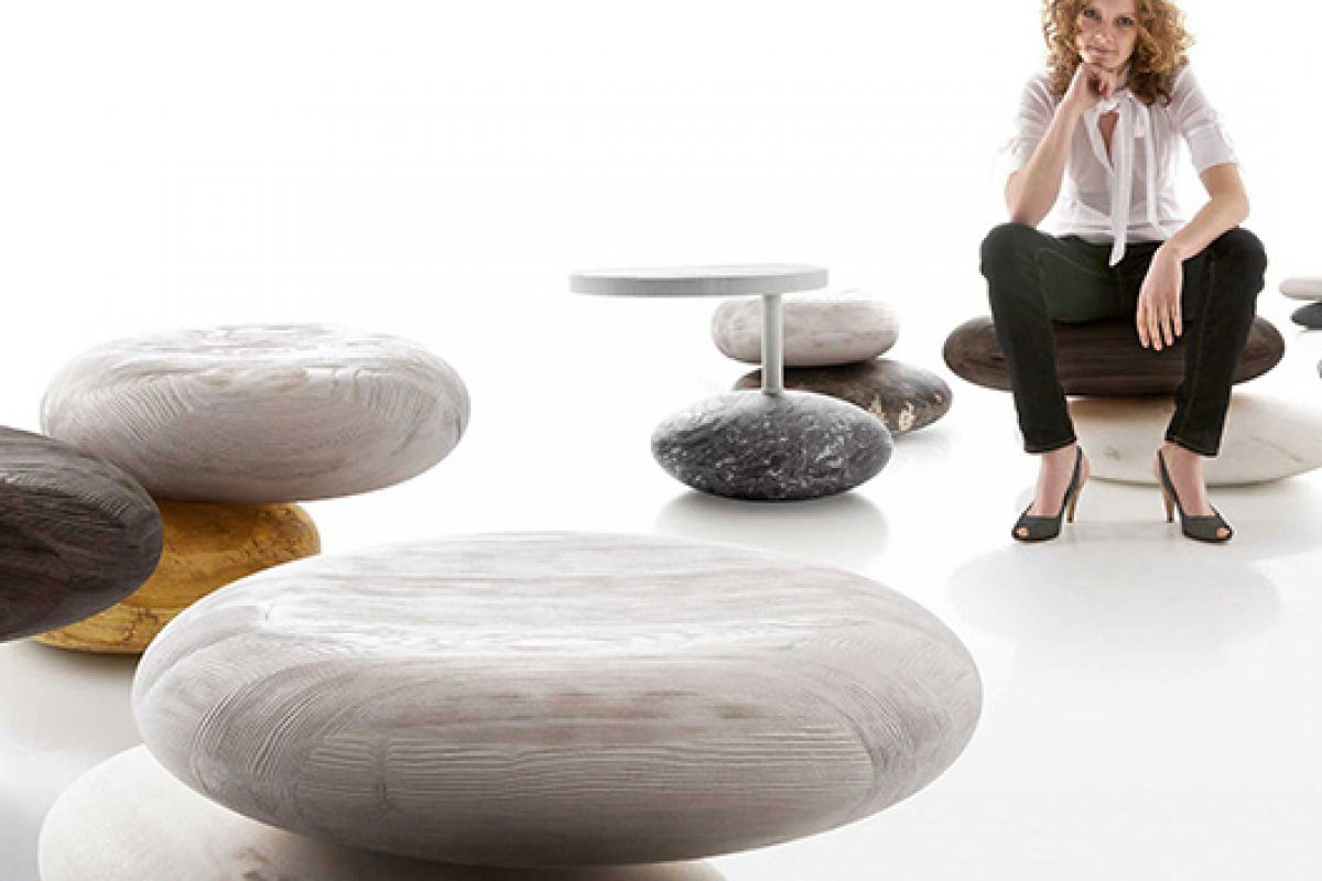 River and Stream, the re-interpretation of whimsical and sculptural seating by Kreoo