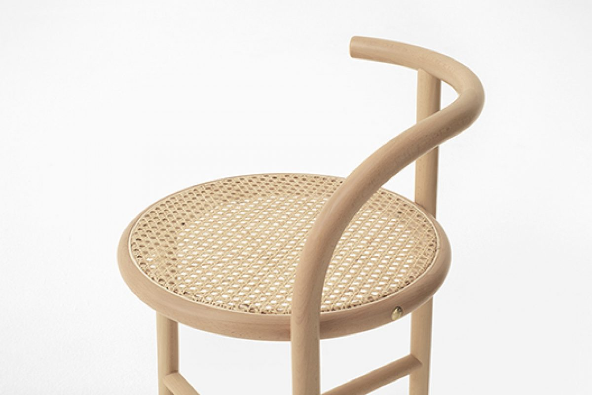 Nendo designs the Single-Curve Collection for Gebrüder Thonet Vienna. One curve marks the piece
