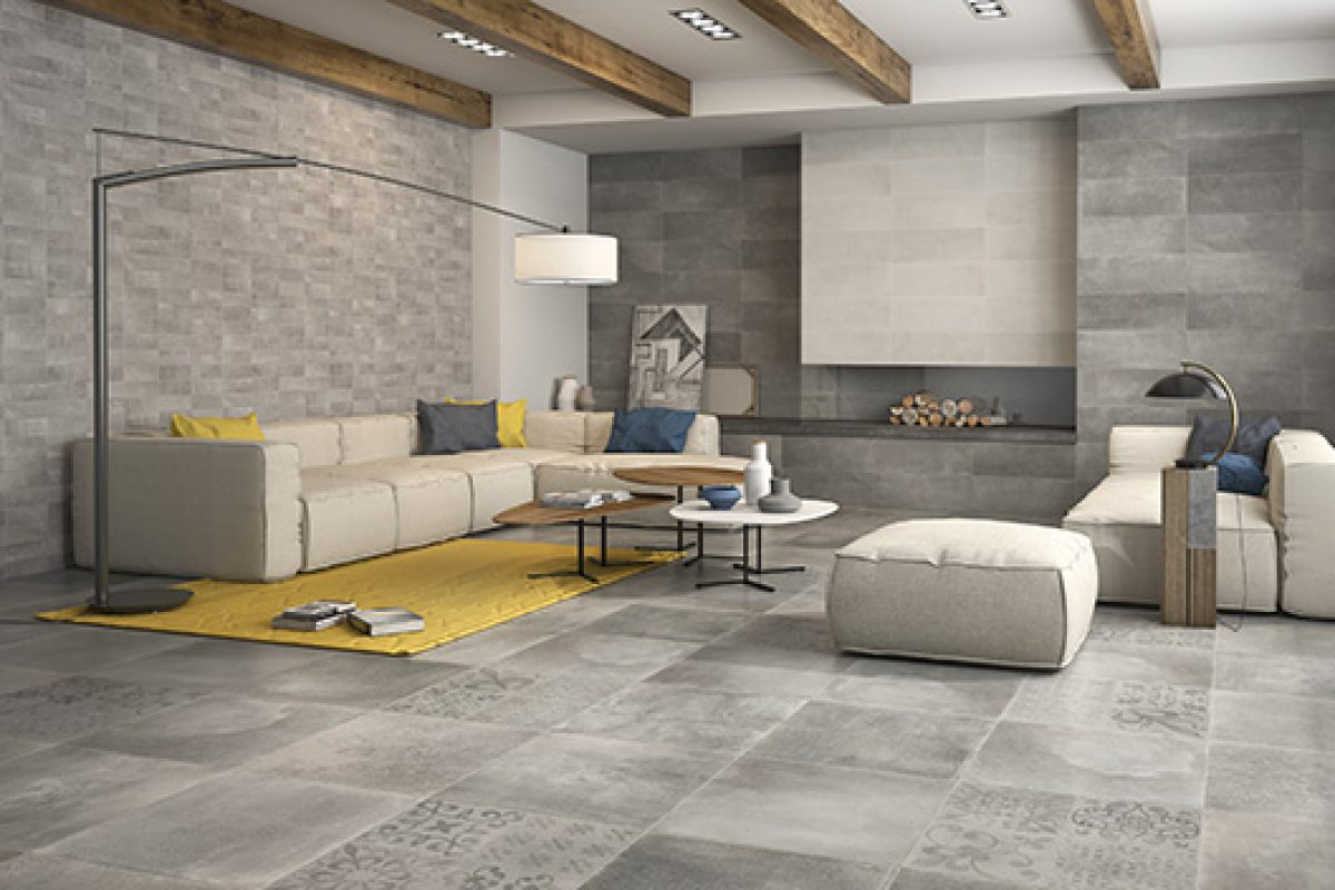 Priorat Collection by Keraben. The stone as a unifying element of ceramic design