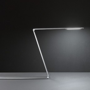 Fitz table lamp, architectural design with Led by Fabas Luce