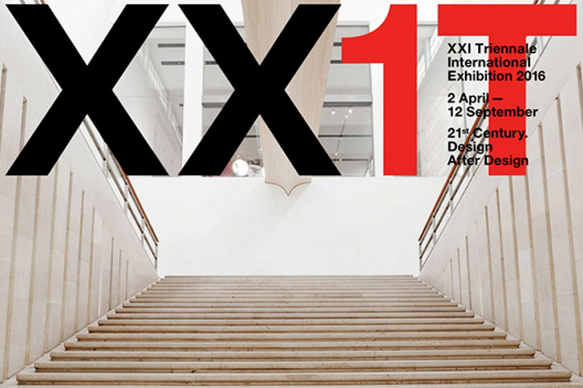 FederlegnoArredo signs on for the big event dedicated to architecture and design in 2016, the XXI Triennale Internazionale