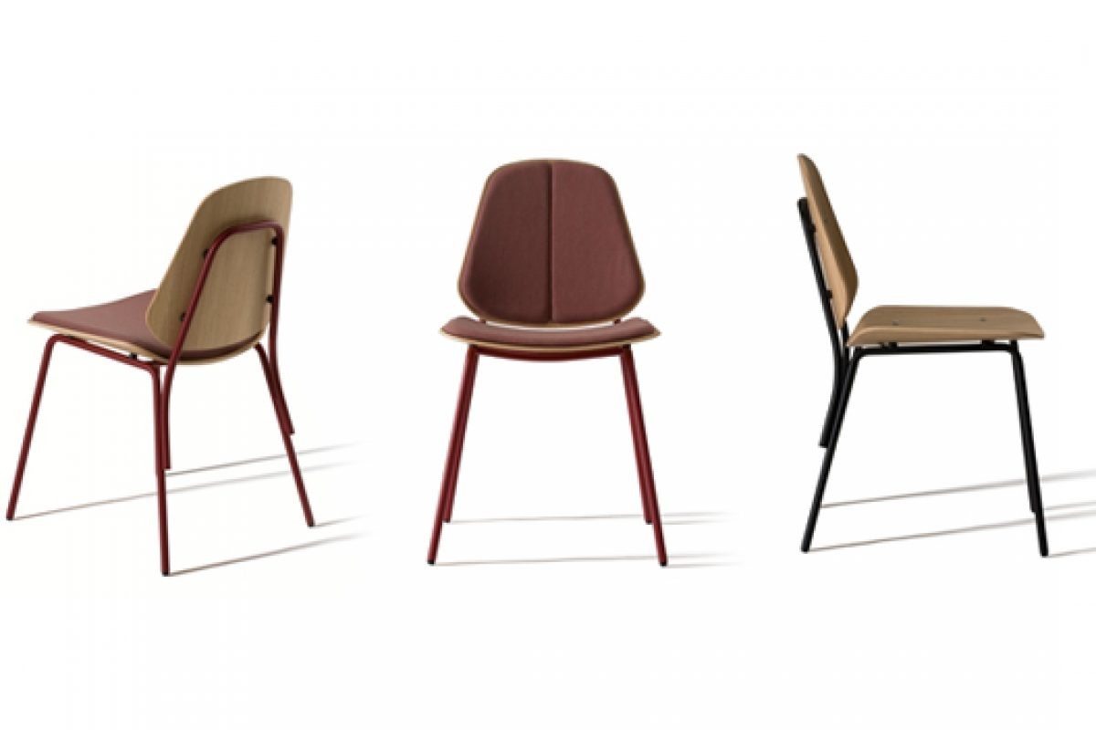 Back to school with the new Col chair designed by Francesc Rifé Studio for Capdell