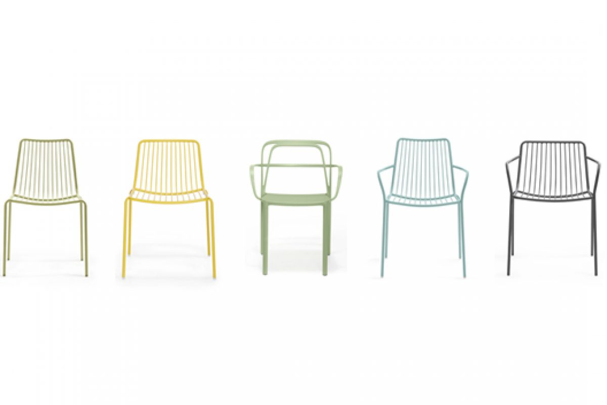 Intrigo and Nolita, new seating collections by Pedrali for this summer