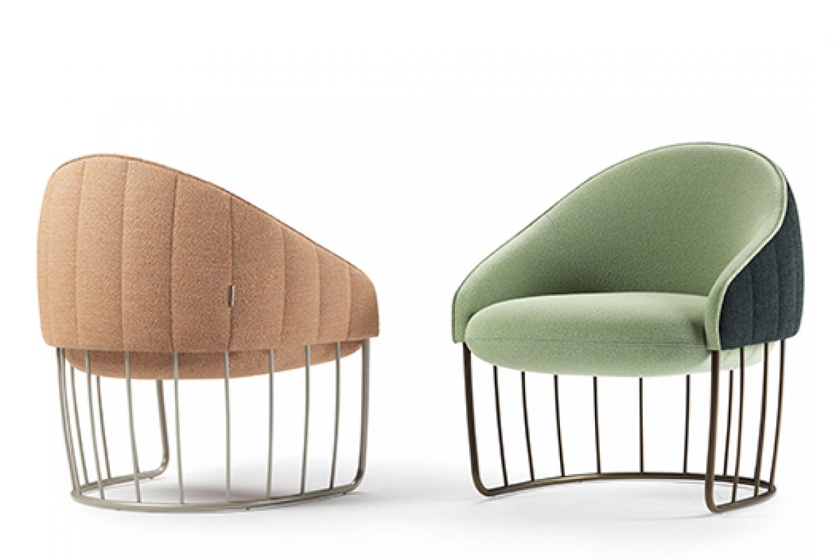 Sancal returns to its roots with Tonella, the compact lounge chair designed by Note