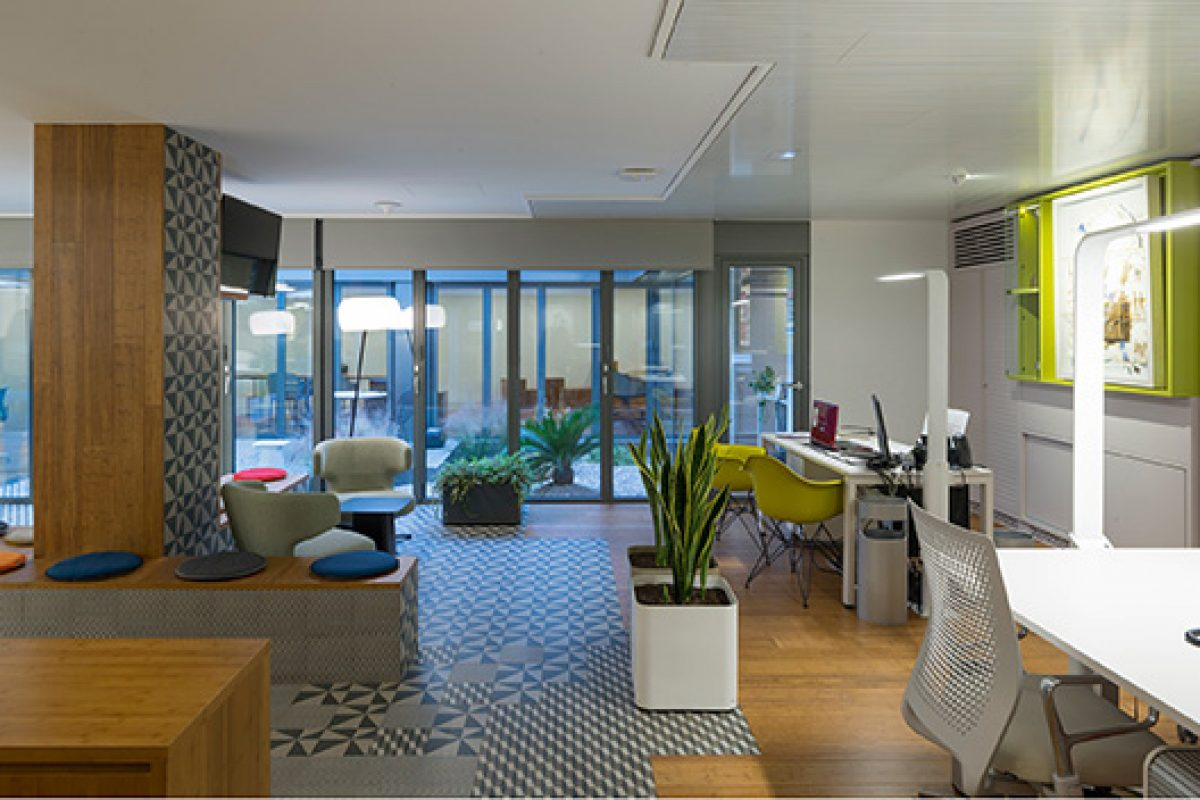 AGi architects designs the new officespace of Prointel, a creative overhaul which included a corporate identity renewal