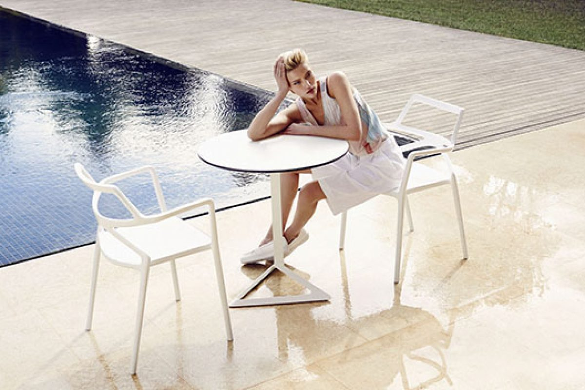 Delta, a timeless chair designed by Jorge Pensi Design Studio for Vondom