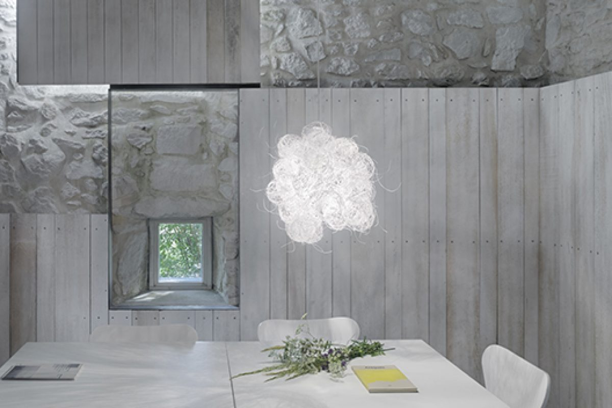 Blum by Arturo Alvarez. Subtle, ethereal and transparent beauty, created from such a cold material as steel