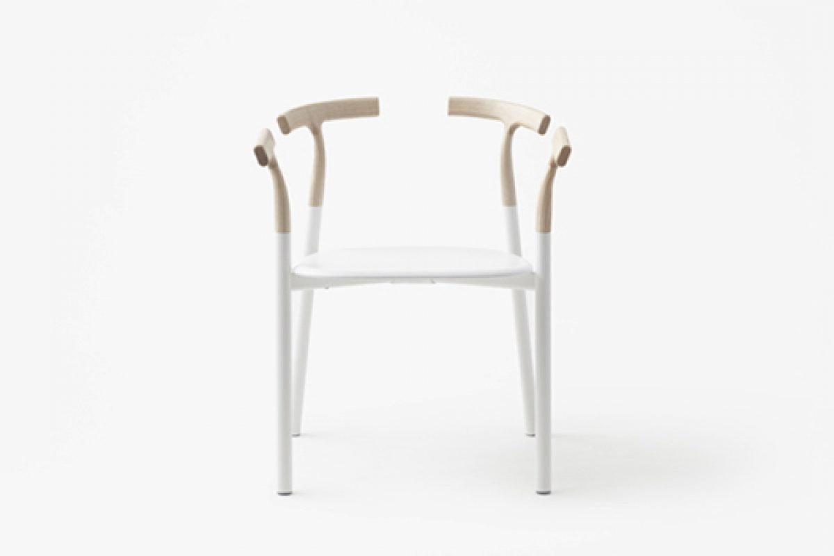 "Nendo designed a new chair ""twig"" for Alias"