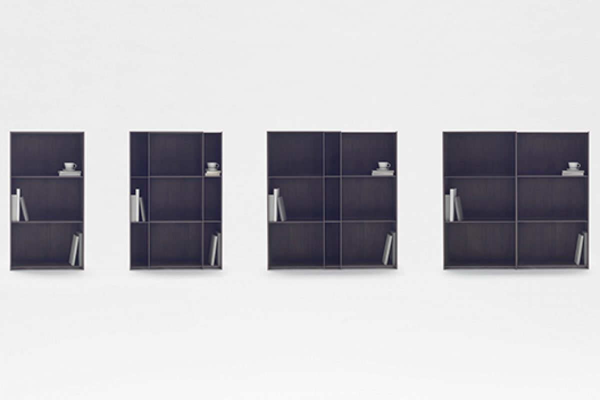 "nendo presents a new shelf ""nest shelf"" during London Design Festival at Somerset House"