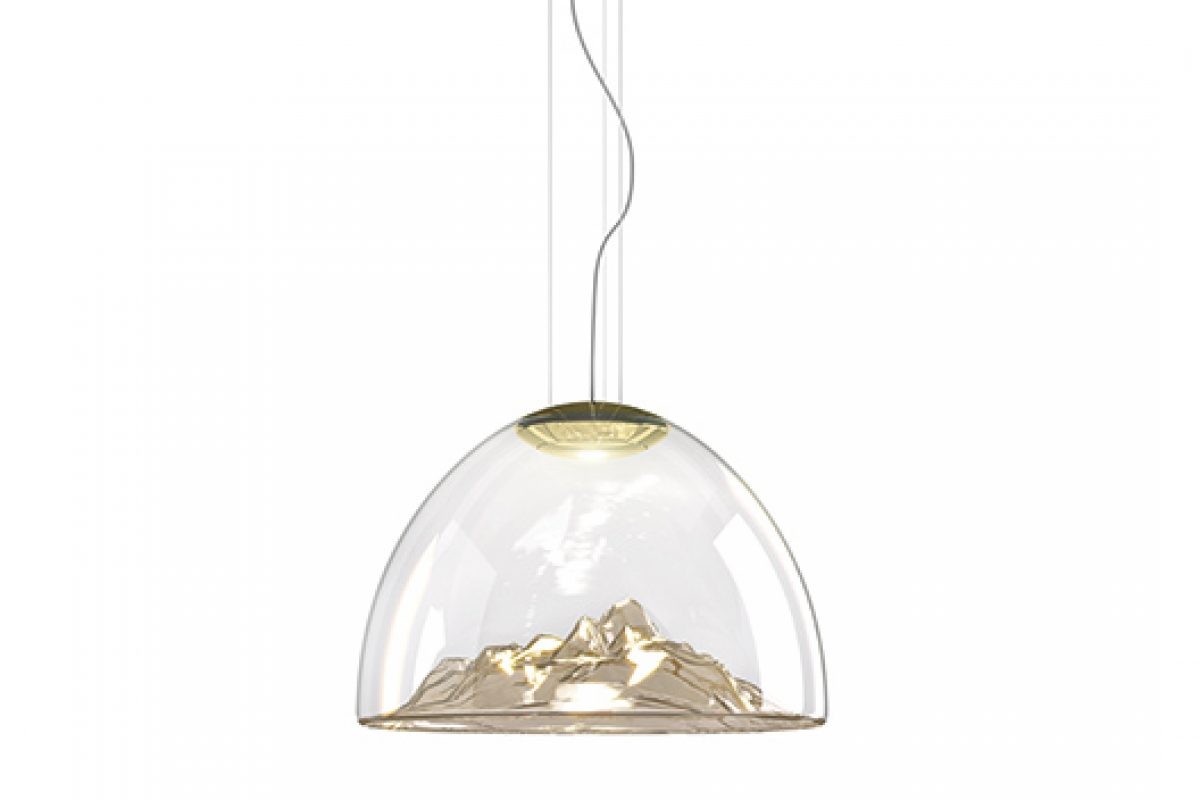 Mountain View, a mountain of light designed by Dima Loginoff for Axo Light