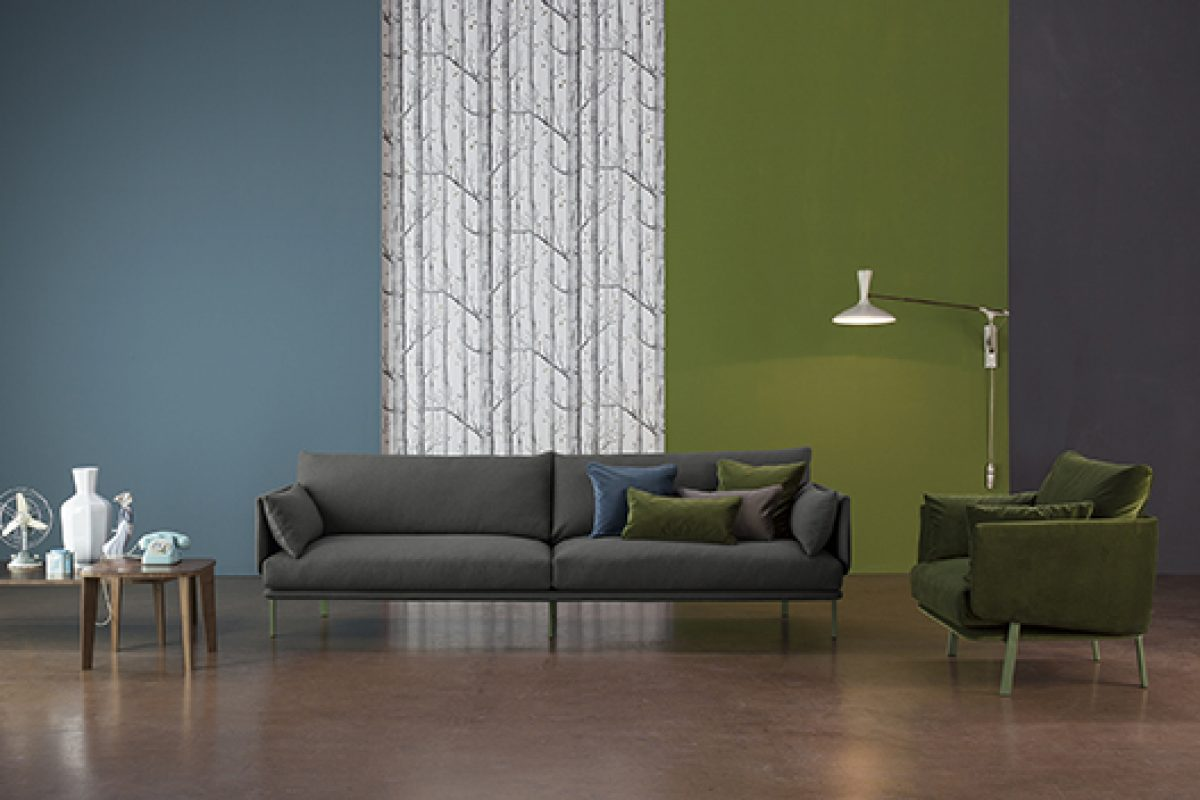 The sofa Structure designed by Alain Gilles for Bonaldo wins the Henry van de Velde Label 2015