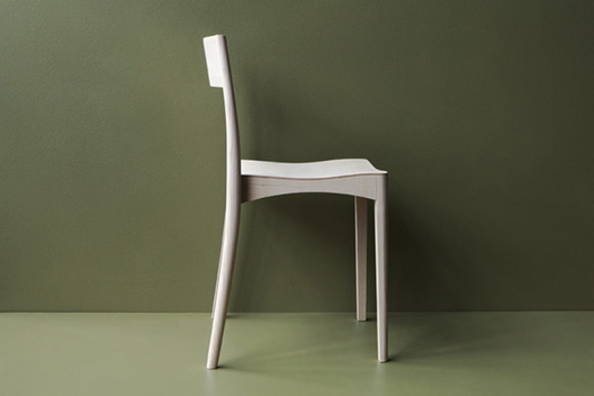 Nikari at Downtown Design Dubai, and introduction of its new October Light chair designed by Samuli Naamanka