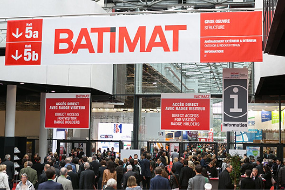 The 2015 Mondial du Bâtiment in Paris closes its doors with 338.110 trade visitors